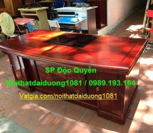 Bàn giám đốc BGD2010H20(M) Kèm hộc di động 3 ngăn kéo