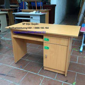 Bàn vi tính, bàn làm việc màu vàng BVT12V