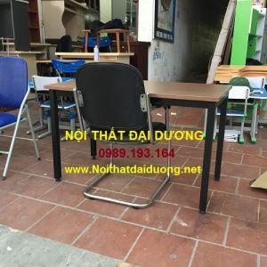 Bàn chân sắt + Ghế chân quỳ Hòa Phát VT1M-PVC