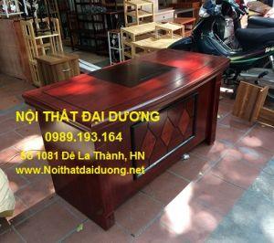 Bàn làm việc + Hộc di động, gỗ MDF phủ sơn PU - BGD1470TT+H3NK