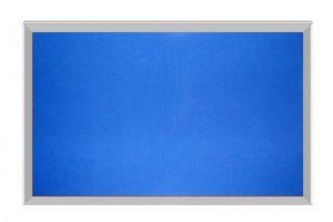 Bảng ghim khung nhôm nẹp nhỏ KT: 60x80cm