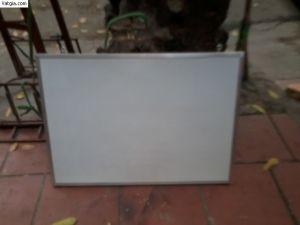 Bảng fooc trắng viết bút dạ, khung nhôm nẹp nhỏ 2cm kt: 500x700 - BF0507