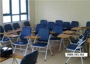 Ghế học cá nhân, ghế liền bàn viết, ghế học tiếng anh GLB04BS