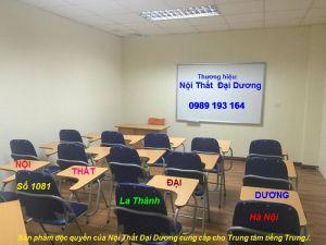 Ghế liền bàn viết học tiếng anh, ghế hội thảo GLB04BS