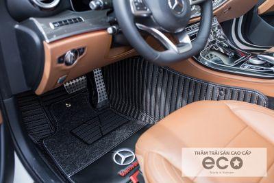 Thảm lót sàn  Eco Cacbon mercedes E màu đen