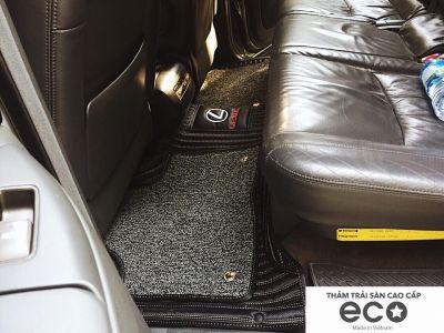 Thảm lót sàn Eco Carbon Lexus GX 460 màu đen 2 lớp