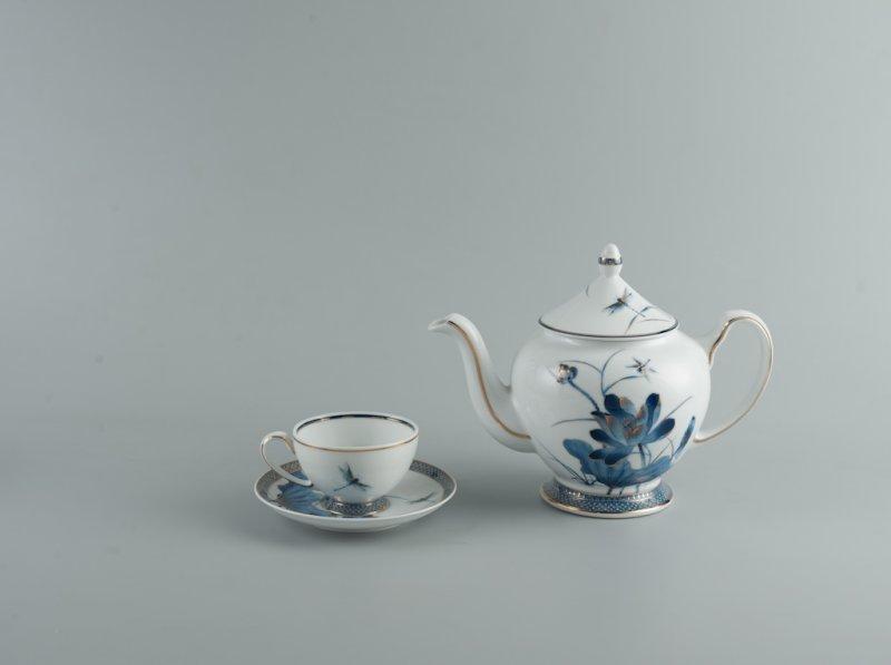 Bộ trà 0.8l SEN VÀNG