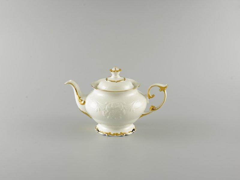 Bình trà 1.3l CHỈ VÀNG (KHÔNG TÔ QUAI)