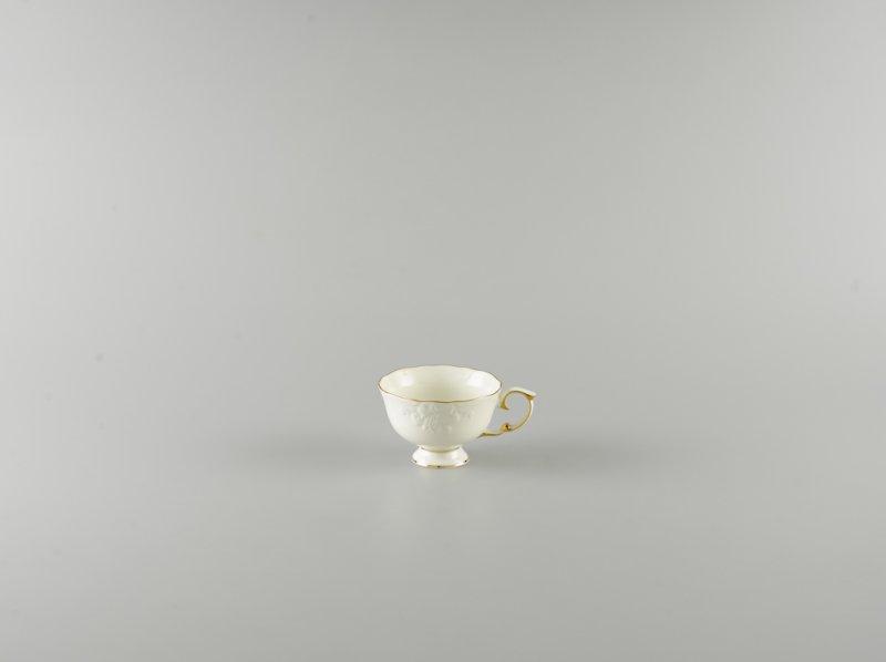 Tách trà 0.18l CHỈ VÀNG (KHÔNG TÔ QUAI)