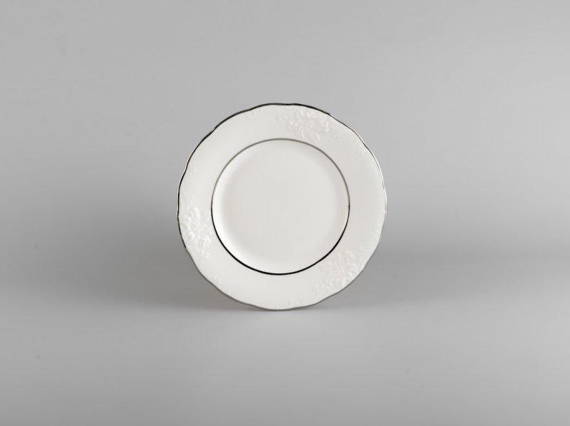 Dĩa tròn 20cm CHỈ BẠCH KIM