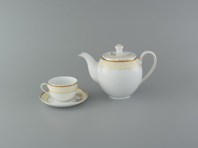 Bộ trà 0.8l HƯƠNG BIỂN KEM