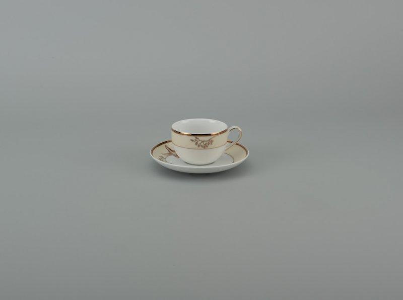 Dĩa lót tách 14cm  HƯƠNG BIỂN KEM