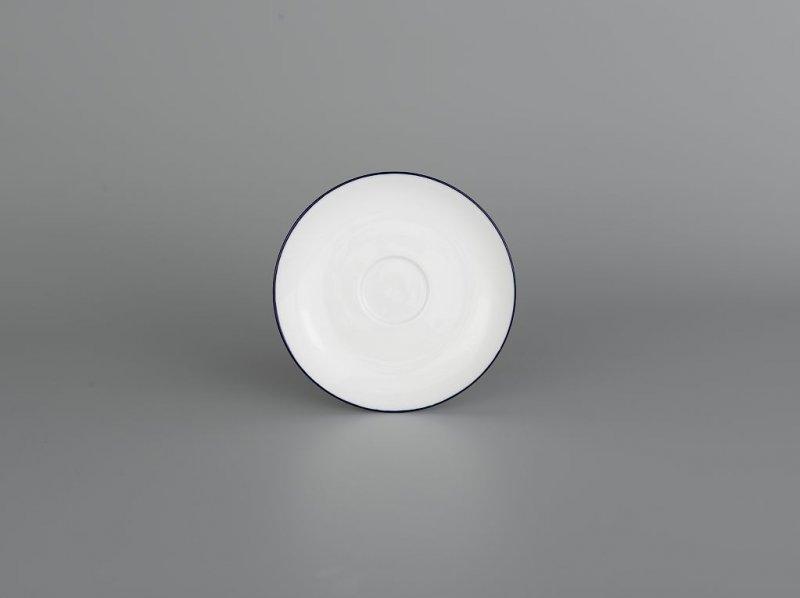 Dĩa lót tách 12cm CHỈ XANH DƯƠNG