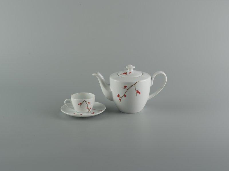Bộ trà 0.65l HỒNG ĐÀO