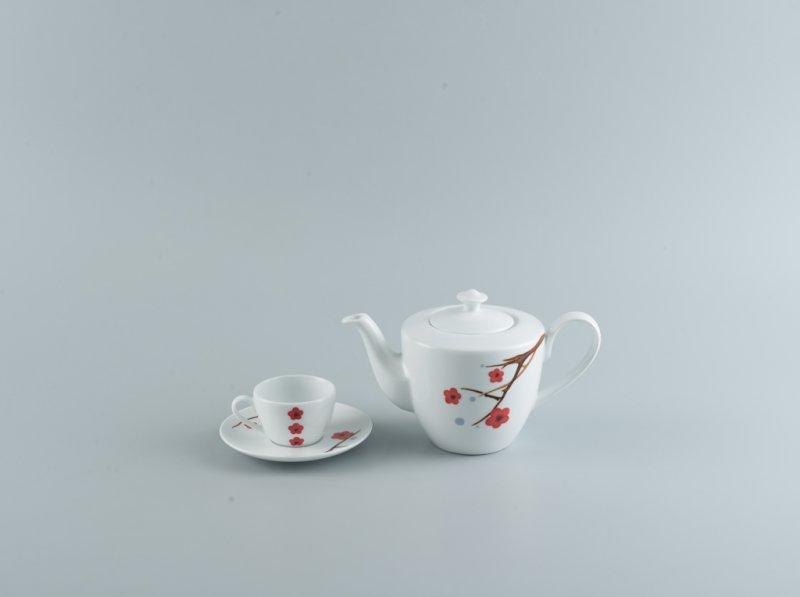 Bộ trà 0.65l HỒNG MAI