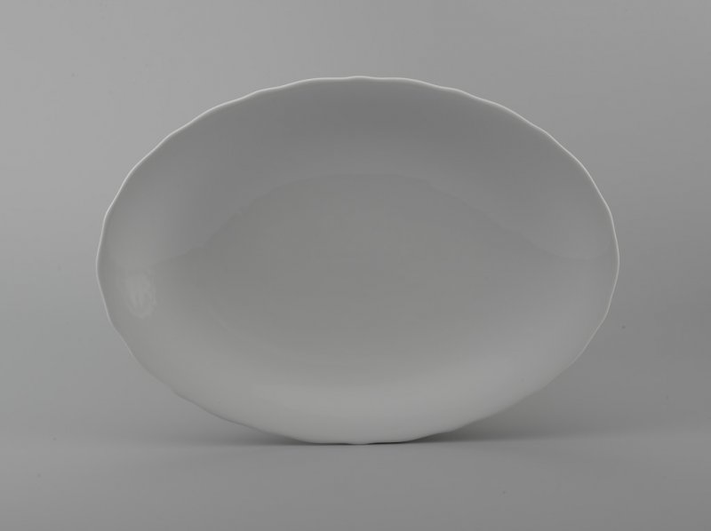 Dĩa oval 25cm MẪU ĐƠN