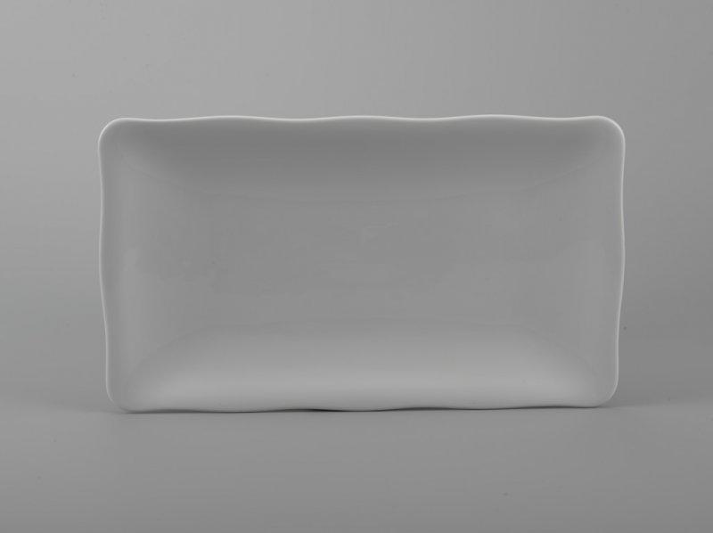 Dĩa chữ nhật 25x17cm MẪU ĐƠN