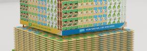 Thiết kế thi công kệ trưng bày sản phẩm Sữa đậu nành Fami của Vinasoy