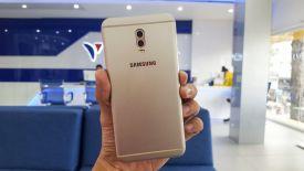 Trên tay Samsung Galaxy J7+ : Camera kép xoá phông, thiết kế nguyên khối, nhận diện khuôn mặt
