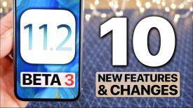 Hướng dẫn cập nhật iOS 11.2 beta 3, thay đổi mới trên Control Center