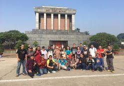 ĐOÀN KHÁCH INDONESIA - THAM QUAN HANOI - HALONG