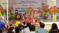 Trường Tiểu học Quang Trung và Mầm non Trần Đại Nghĩa chào đón năm học mới