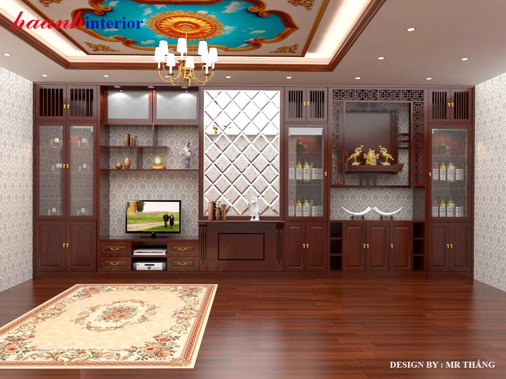 Thiết kế nội thất chung cư cao cấp Aurowindou trần duy hưng