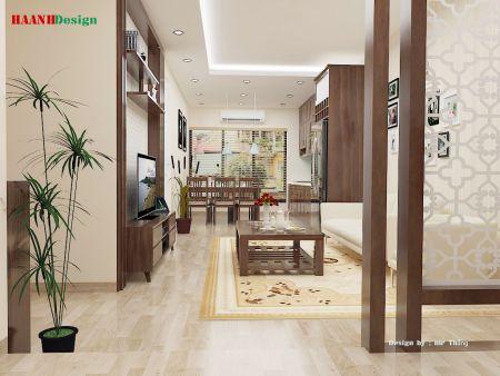 Thiết kế công trình nhà chung cư Hoàng Hoa Thám