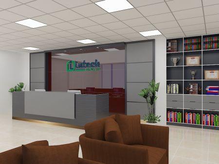 Thiết kế nội thất văn phòng công ty intech.