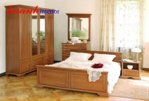 Bộ nội thất phòng ngủ hiện đại BPN002