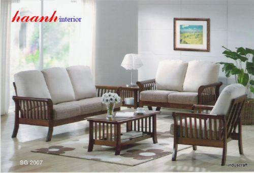 Sofa gỗ tự nhiên SFG004