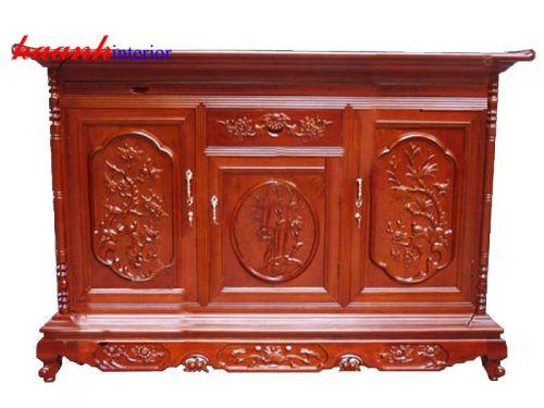 Tủ thờ gỗ gụ TTC003