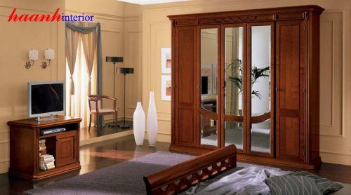 Mẫu phòng ngủ giả cổ BPC003