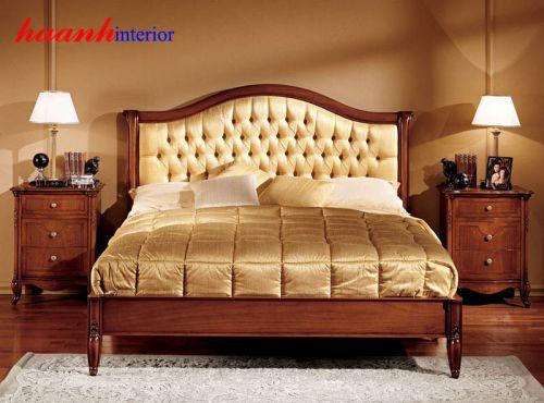 Giường ngủ gỗ cao cấp GNC003
