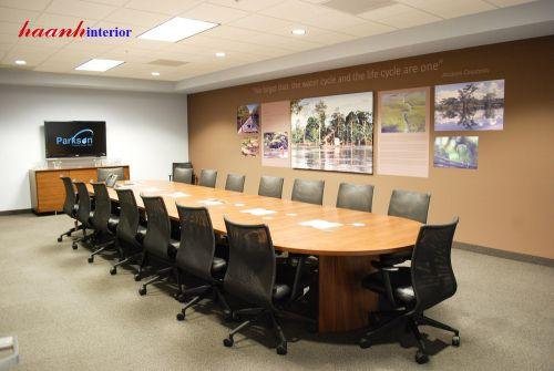 Phòng họp gỗ công nghiệp PHH001