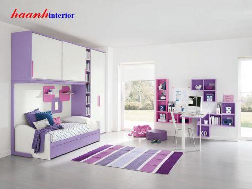 Phòng ngủ bé gái GTE003