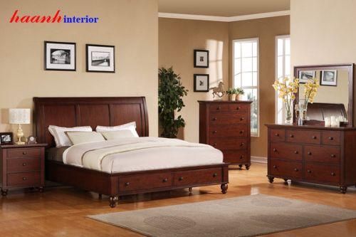 Bộ nội thất phòng ngủ GNH010