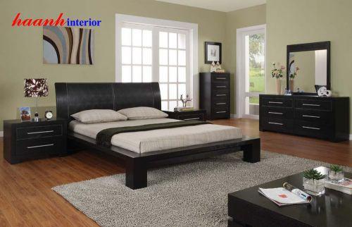 Giường ngủ gỗ công nghiệp GNH007