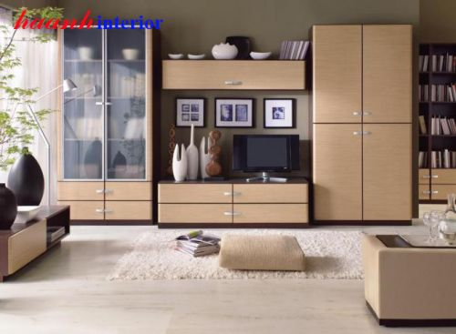 Tủ trang trí phòng khách TPK006