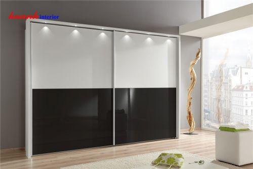 Tủ áo gỗ công nghiệp acrylic TAH005