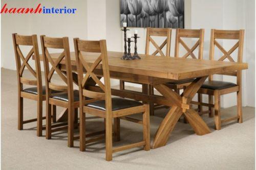 Bộ bàn ghế ăn BGA014