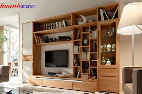 Tủ trang trí phòng khách TPK013