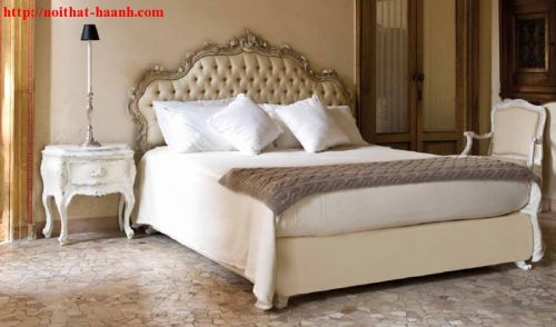 Giường ngủ tân cổ điển GNC014