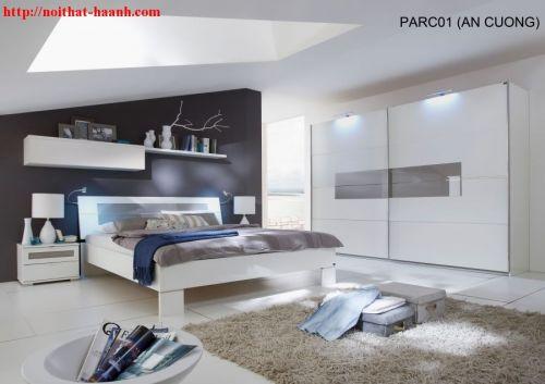 Phòng ngủ hiện đại  gỗ công nghiệp. BPN014