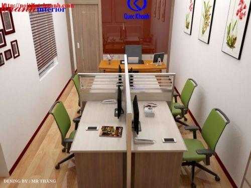 Thiết kế nội thất văn phòng tại Quan Nhân Hà Nội VP001