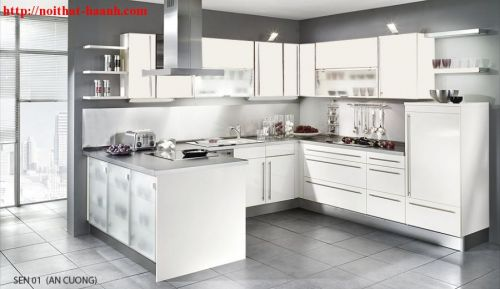 Tủ bếp công nghiệp hiện đại BCN009