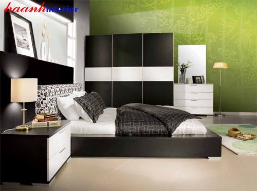 Giường tủ hiện đại GNH022