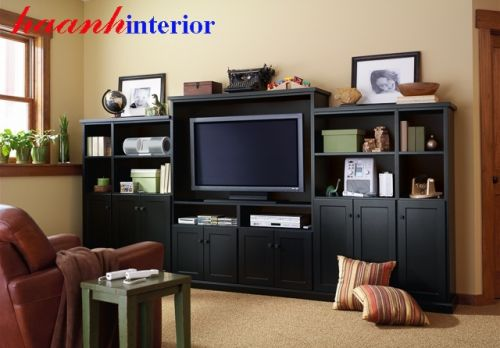 Tủ bày phòng khách gỗ tự nhiên TCD003