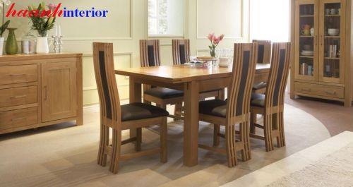 Bàn ghế ăn gỗ sồi hiện đại BGA031