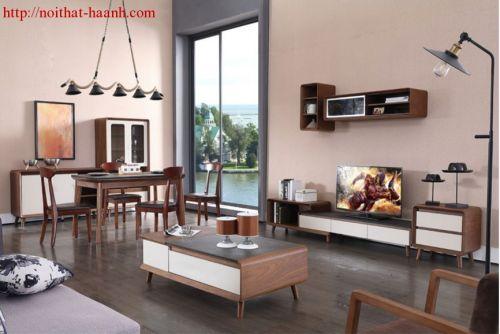 Đồ gỗ nội thất  phòng khách hiện đại,sang trọng TPK022